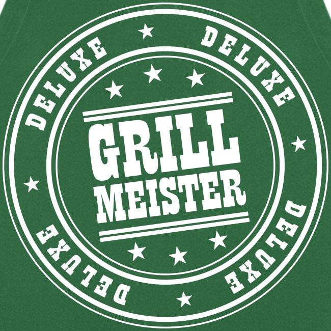Grill Meister Deluxe (Weiß) Grillschürze