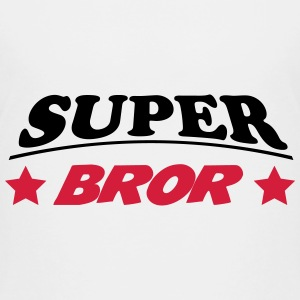 Super bror 111 Skjorter - Premium T-skjorte for barn