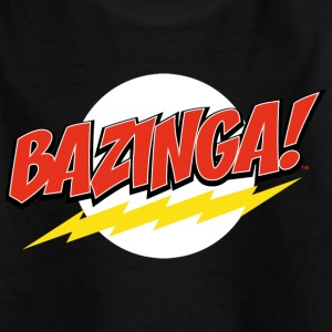 The Big Bang Theory Bazinga Tee shirt Ado - T-shirt Ado