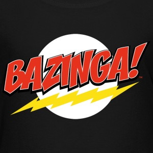 The Big Bang Theory Bazinga Tee shirt Premium Ado - T-shirt Premium Ado