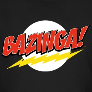 The Big Bang Theory Bazinga herre T-shirt - Organic mænd
