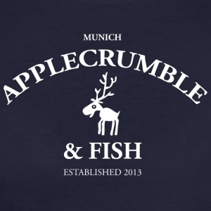 Applecrumble & Fish - Frauen Bio-T-Shirt