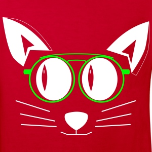 Cat with glasses Shirts - Kids' Organic T-shirt