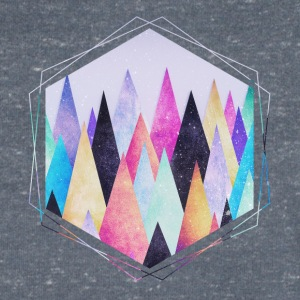 Hipster triangles (geometry) Abstract Mountains  Tee shirts - T-shirt Homme col V