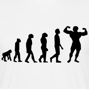 Evolution Body Building T-Shirts - Men's T-Shirt