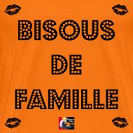 Motif ~ BISOUS DE FAMILLE - Jeux de Mots Francois Ville