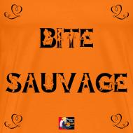 Motif ~ BITE SAUVAGE - Jeux de Mots Francois Ville