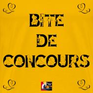 Motif ~ BITE DE CONCOURS - Jeux de Mots Francois Ville