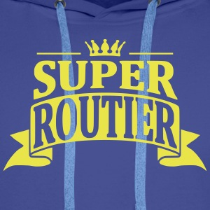 Super Routier Sweat-shirts - Sweat-shirt à capuche Premium pour hommes