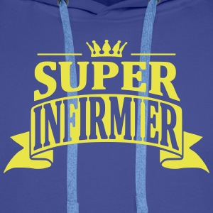 Super Infirmier Sweat-shirts - Sweat-shirt à capuche Premium pour hommes