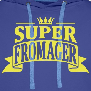 Super Fromager Sweat-shirts - Sweat-shirt à capuche Premium pour hommes