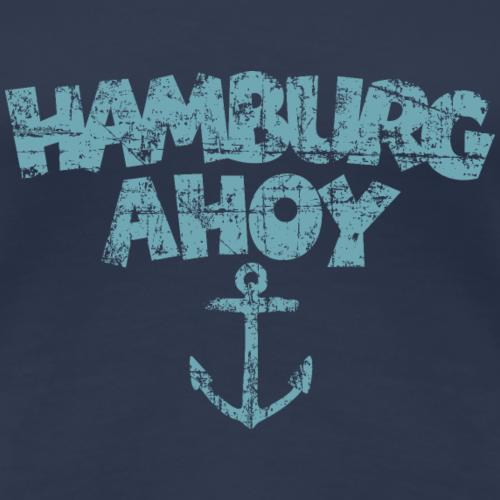 Hamburg Ahoy Anker Vintage Hell