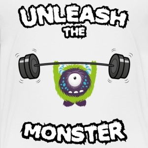 Unleash the Monster Magliette - Maglietta Premium per ragazzi