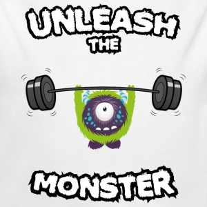Unleash the Monster Bodys Bébés - Body bébé bio manches longues