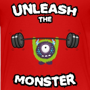 Unleash the Monster T-shirts - Premium-T-shirt tonåring