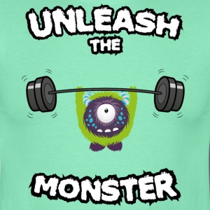 Unleash the Monster T-shirts - Herre-T-shirt
