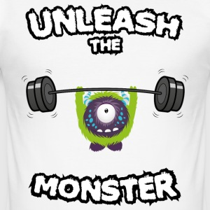 Unleash the Monster T-Shirts - Men's Slim Fit T-Shirt