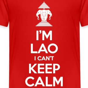 I'm Lao I Can't Keep Calm Shirts - Kids' Premium T-Shirt
