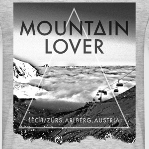 Mountain Lover - Arlberg T-Shirts - Men's T-Shirt