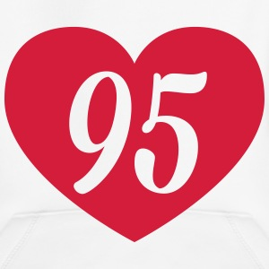 95th birthday heart Hoodies - Kids' Premium Hoodie
