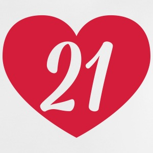 21st birthday heart Shirts - Baby T-Shirt