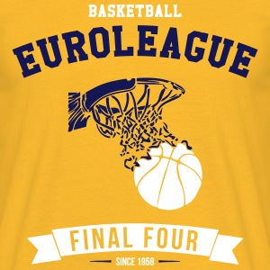 BASKETBALL EUROLEAGUE T-Shirts - Men's T-Shirt