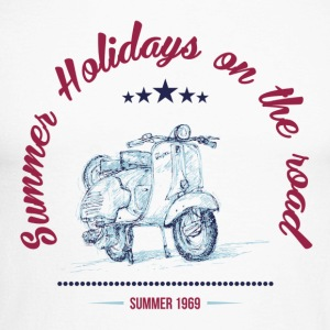 SUMMER HOLIDAYS ON THE ROAD Long sleeve shirts - Men's Long Sleeve Baseball T-Shirt