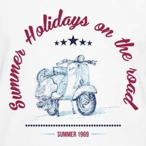 SUMMER HOLIDAYS ON THE ROAD T-Shirts - Men's Ringer Shirt