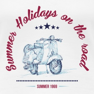 SUMMER HOLIDAYS ON THE ROAD T-Shirts - Women's Premium T-Shirt
