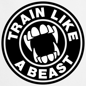 Train like a Beast Delantales - Delantal de cocina
