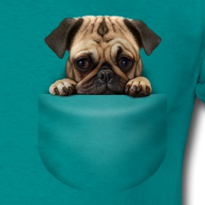 POCKET DOG - Men's T-Shirt