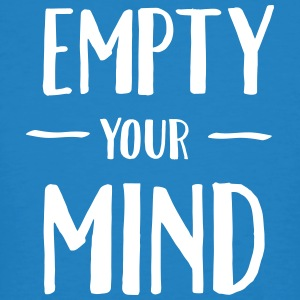 Empty Your Mind T-shirts - Ekologisk T-shirt herr