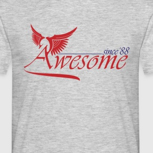 Awesome SINCE 1988 T-Shirts - Men's T-Shirt