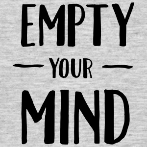 Empty Your Mind T-shirts - Herre-T-shirt