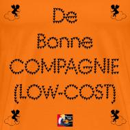 Motif ~ De bonne COMPAGNIE (LOW-COST) - Jeux de Mots Francois Ville