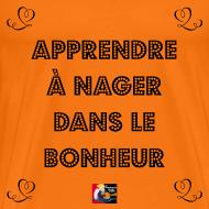 Motif ~ Apprendre à NAGER (dans le BONHEUR) - Jeux de Mots Francois Ville