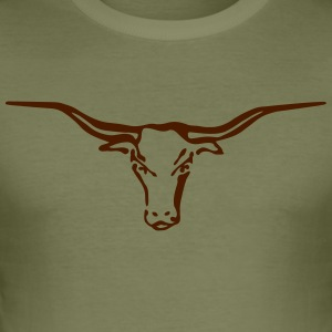 Longhorn - Männer Slim Fit T-Shirt