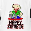 Happy Zombie - Baby Bio-Kurzarm-Body