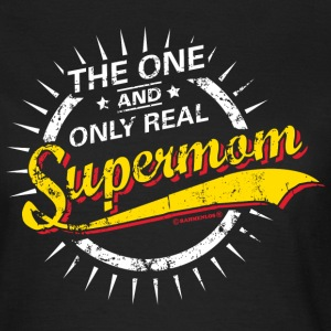 The one and only real Supermom RAHMENLOS® T-Shirts - Frauen T-Shirt