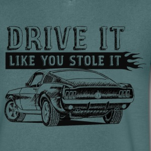 Drive It - Fastback T-Shirts - Men's V-Neck T-Shirt