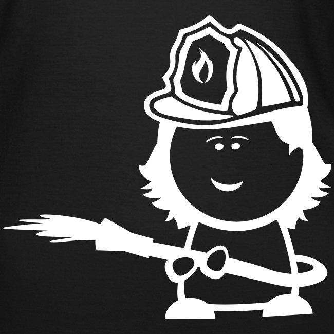Retter-Nerd-Firefighter-Girl