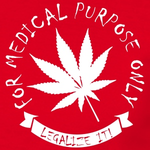 Legalize medical Cannabis T-Shirts - Men's T-Shirt