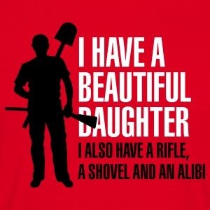I have a beautiful daughter (correct) T-Shirts - Men's T-Shirt
