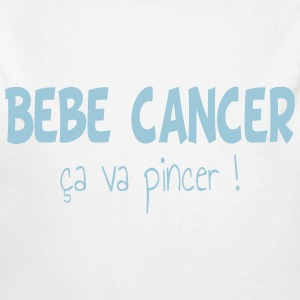 Bebe cancer Baby Bodys - Baby Bio-Langarm-Body