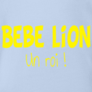 Bebe lion Shirts - Organic Short-sleeved Baby Bodysuit