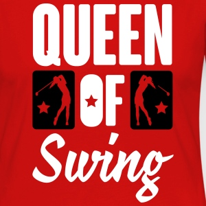 Golf: Queen of swing Long Sleeve Shirts - Women's Premium Longsleeve Shirt