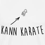 Kleines Hühnchen kann Karate T-Shirts