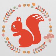 Motif ~ sac écureuil