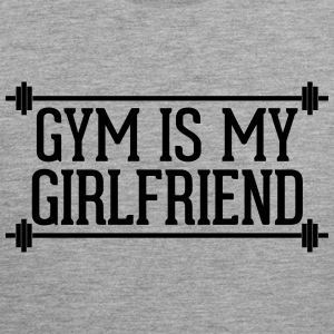 Gym Is My Girlfriend  Tank Tops - Men's Premium Tank Top