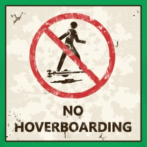 No hoverboarding back to the future T-Shirts - Männer T-Shirt
